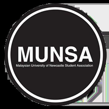 Malaysians in University of Newcastle Student Association logo